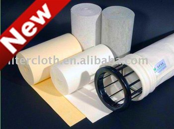 PTFE Coated Polyester Needle Felt For Filter Bag