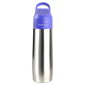 Portable Mini Bluetooth Speaker Stainless Steel Water Bottle