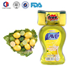 High quality 600ml with sponge lemon dishwashing liquid
