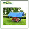 pe waterproof tarp customized large camping tarpaulin