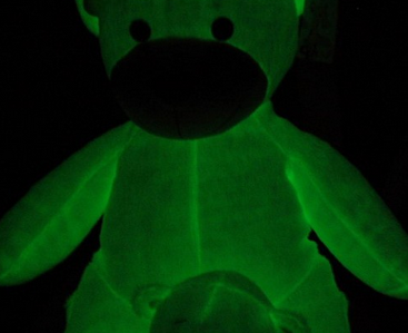 Glow dark pigment, luminescent powder for toys