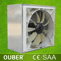 wall window powerful exhaust fan with axial fan