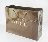 2015 fashion custom paper food bag/ brand luxury bag/ printed shopping bag