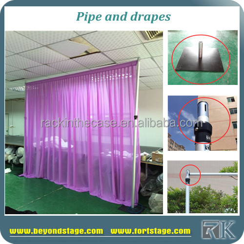 wall covering curtains poles