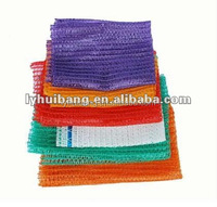 PE raschel bags in various colors for potato or onion