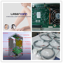 OEM/ODM Diode Laser Hair Removal Components