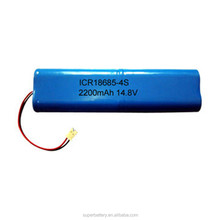 OEM 14.8V 2200mAh Li-ion ICR18650 battery pack used for torch lightings