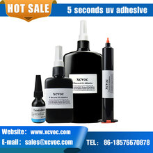 5 Second Fix UV Adhesive For Glass to Metal Bonding Transparent Fast Curing UV Glue Shadowless Acrylic Electronics Using Glue