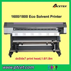 Acetek Large Format Tarpaulin Printer With 1440dpi, DX7/ DX5