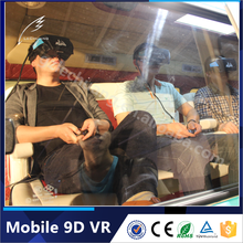 Guangzhou Manufacturer Professional Mobile 9D Cinema/9D Game /9D Truck Theater