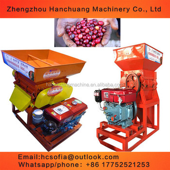 best price Coffee Bean Depulper Machine / Pulper sheller shelling machine