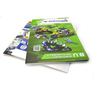 Full color printed custom cheap offset printing perfect binding color brochure/magazine catalogue printing