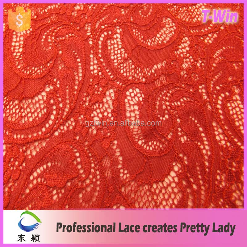 factory price indian lace embroidery fabric/high quality black indian lace embroidery fabric/red indian lace embroidery fabric