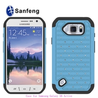 Delightful colour skilful knitting low overhead phone case for samsung g890