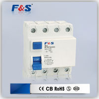 4p residual current circuit breaker rcd rccb, 16 amp earth leakage circuit breaker, rcd breakes