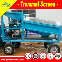 Gold trommel sand mineral process equipment