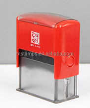 2015 Epress Optional Colors 47x18mm Square Hot sale ABS Plastic Office Supplies Self-Inking Stamps