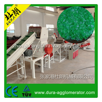 High Efficiency at Low Price 1000kg per hour PP PE Washing Plastic Film Recycle Machine