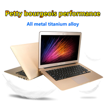 Factory cheap 13 inch i7 DDR3L RAM 2G /4G EMMC 32G /64G unbreakable Aluminum+ABS Plastic laptop