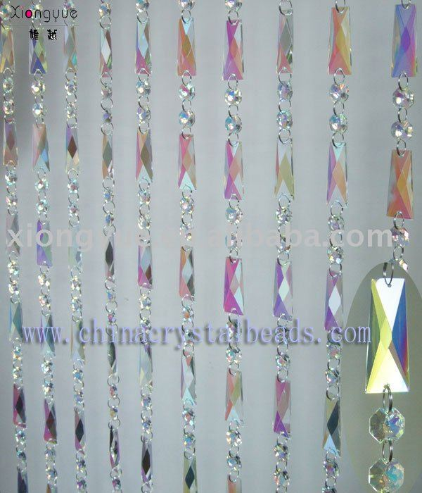 Crystal AB decorative handmade hanging beaded curtains L038