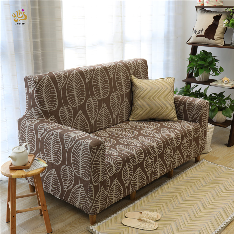 JYH Hot Sell Cheap Spandex Sofa Cover Fabric Elastic Stretch Sofa Seat Cover Chair Cover