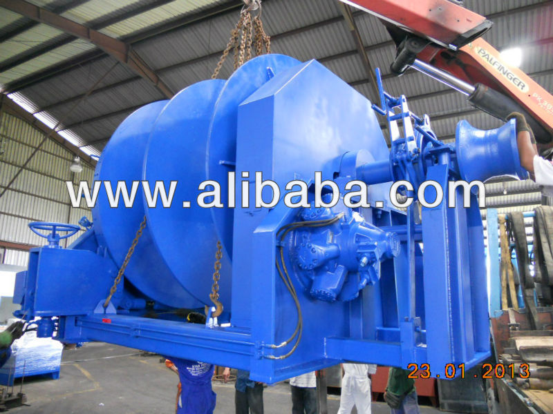 HYDRAULIC ANCHOR TOWING WINCH