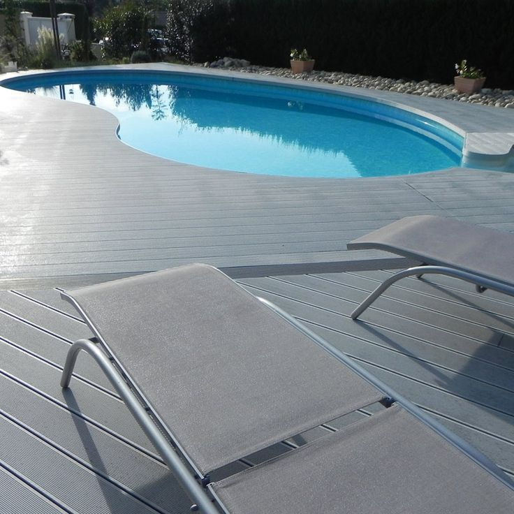 List manufacturers of composite landscape timbers buy for Non slip composite decking