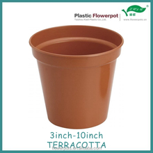 Small garden decoration plastic flower pot for nursery plants