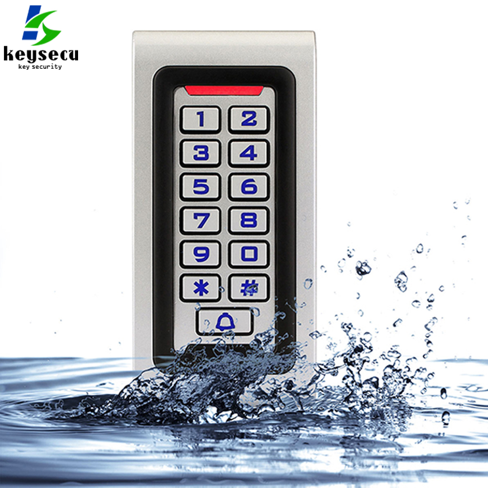 <strong>12</strong>/24V Universal Waterproof Metal Keypad Access Control