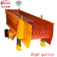 China best stone vibrating feeder price for mining crusher