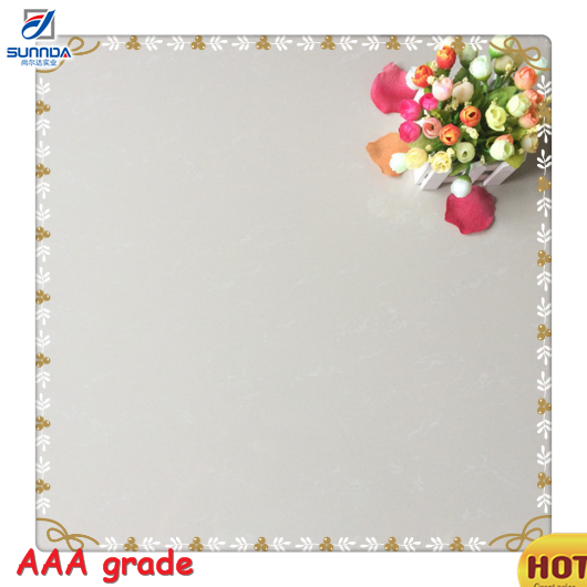 Chinese Foshan Vitrified Factory Prices ivory White 60x60cm Nano Glossy Bathroom Polished Porcelain Floor Tiles