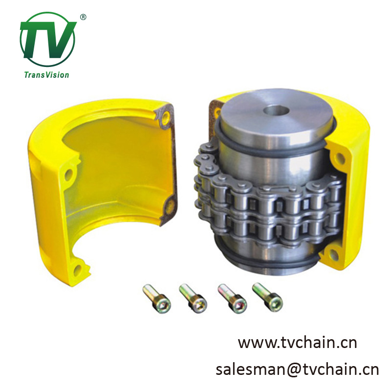 Aluminium Flexible Cover Chain Coupling KC8020