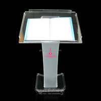 YZ-0026 clear Special offered exqusite acrylic clear church podium