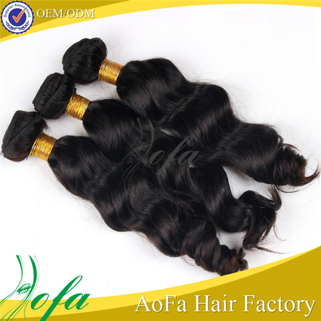 Wholesale Grade 5A body wave Natural color 10-30 inch factory price 100% brazilian hair extension