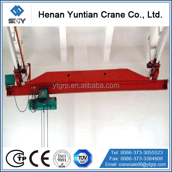 LX Type Electric Single Beam Suspension Crane with CE SGS ISO GOST and BV Certificate