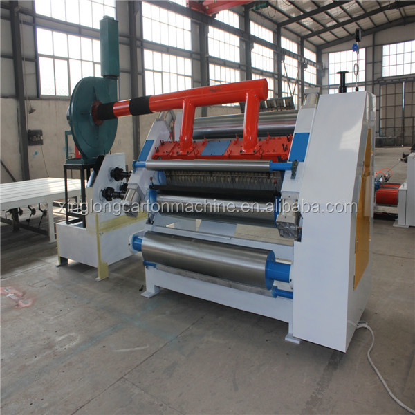 Adsorption Single Facer Machine Box Making Machine Prices