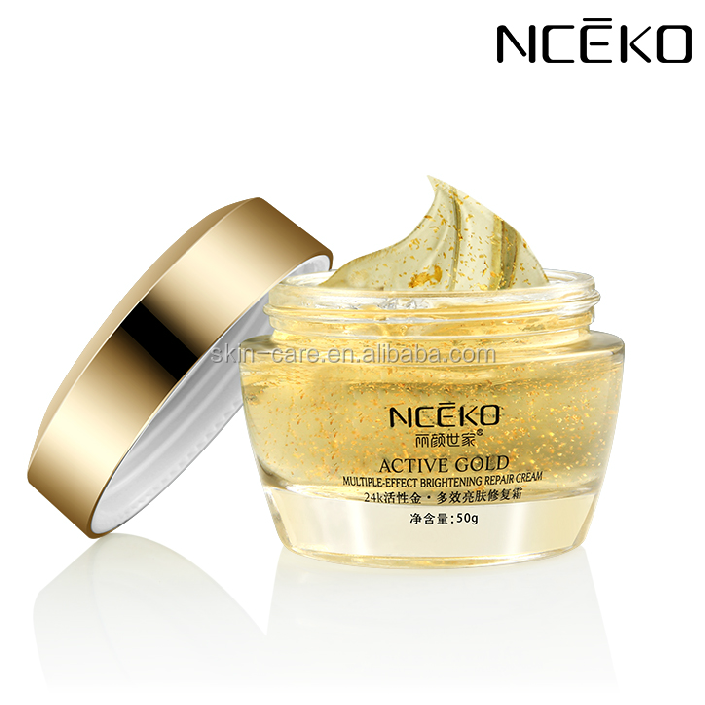 New products for gold foil Revitalizing Anti Aging Wrinkle Free Cream