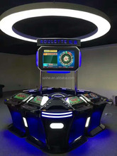 Australia luxury electronic roulette 32inch wheel gambling products machine for sale