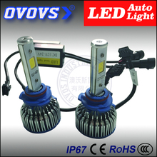 Truck accessary led auto 9005 12v 24v 24w cob motorcycle headlight for motorcycle,engine spare parts