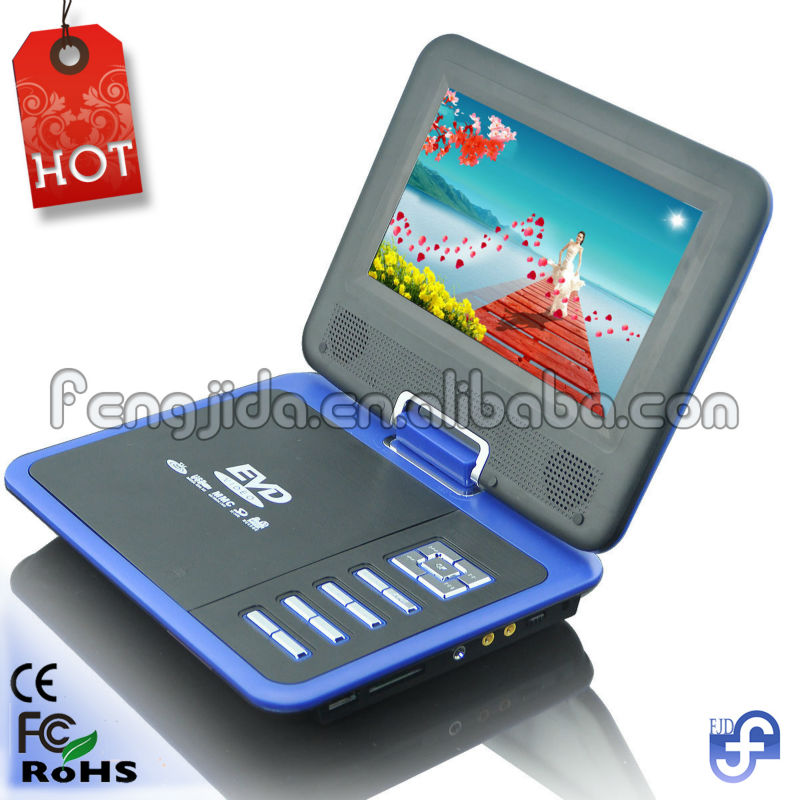 7 inch mini portable lcd tv with tv tuner