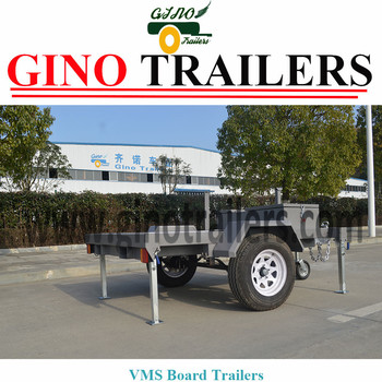 Vms Traffic Sign Trailer for Hot Sale