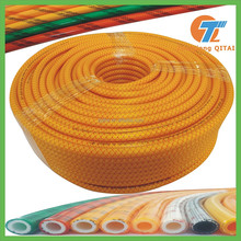 3 layer weaved PVC high pressure spray hose, knitted hose pipe