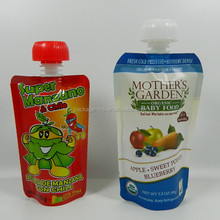 2015 OEM high quality food packaging flexible plastic mixed fruit juice pouch manufacturer