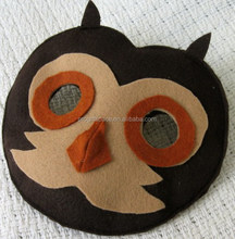 hot trendy high quality and eco friendly felt wholesale mask halloween on alibaba express for promotional gift