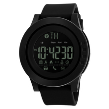 Skmei Men Hot Selling Waterproof Sport Smart Watch for Silicone Wristband
