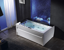one person acrylic whirlpool spa bathtub with touch screen panel indoor massage bathtub