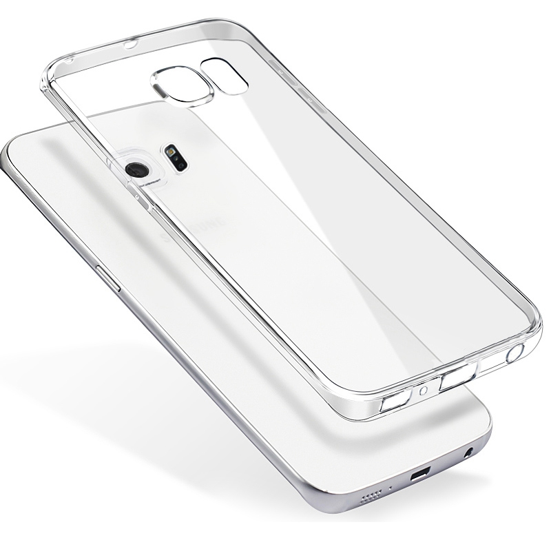 Clear Transparent Tpu Cell Phone Cover For Samsung Galaxy S Advance