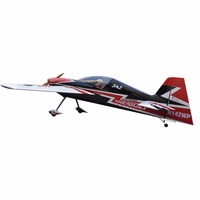 "gas powered Sbach-342 64"" gas 20cc rc fiberglass model airplane"