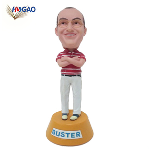 Make Your Own polyresin personal design custom bobble head