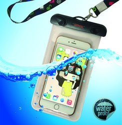 2015 hot design fashion popular product advertising phone waterproof dry bag for promotional gift